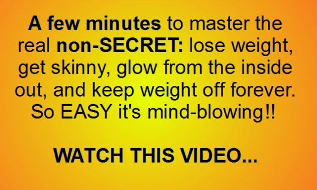 Seriously, LOSING WEIGHT and STAYING THIN FOR A LIFETIME is EASY, ENJOYABLE…but only if You Know this.